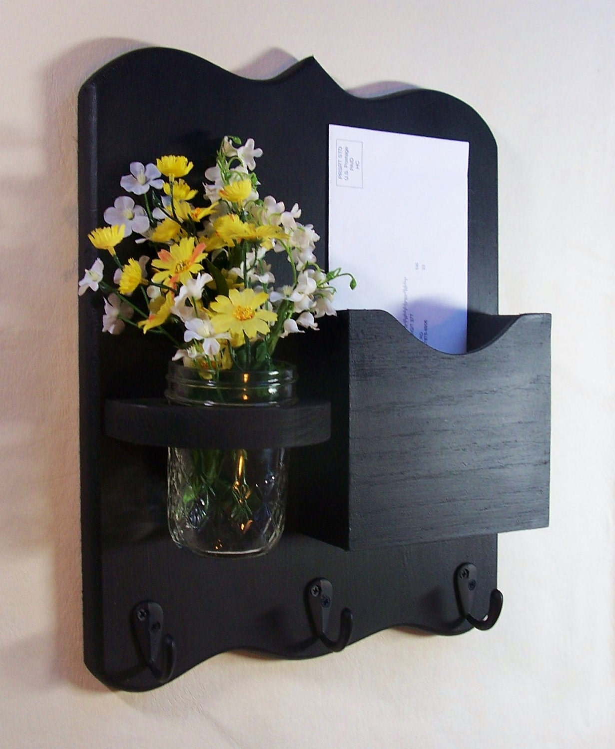 Mail Organizer Mail And Key Holder Letter Holder By