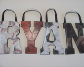 SPORTS Wall letters  bedroom/playroom