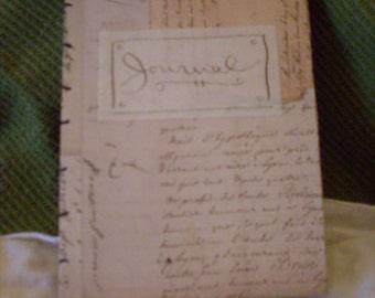 Journal - Handbound coptic book