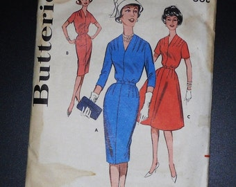 Vintage Pattern Butterick  Extra Large Wiggle Dress
