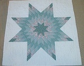 Vintage Handmade Baby Quilt or Wall Hanging