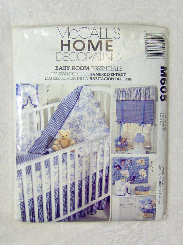 Baby Bedroom Essentials: McCalls Home Decorating Baby Room Essentials By