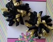 Lux Black and Gold Korker set