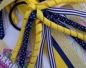 Royal Blue and Gold Spirit Streamer