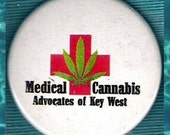 Medical Cannabis Advocates of Key West pin back button