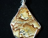Biggs Junction Jasper Man Pendant in Sterling SIlver