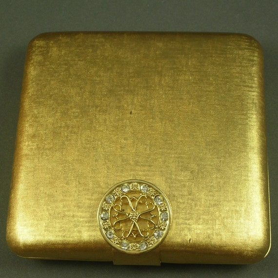 Vintage Avon Gold Compact By Scdvintage On Etsy