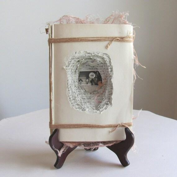 Book Shrine/Book Art - Single-Hearted