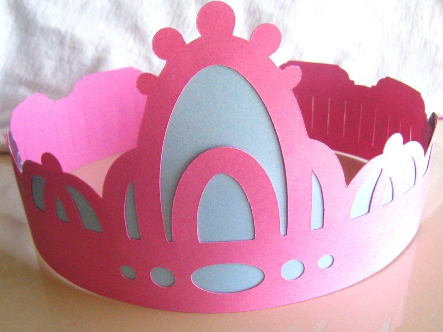 Paper Crowns for a Prince or Princess by Socials on Etsy