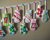 For Barbara S. - BakerGirl Mitten Advent Calendar