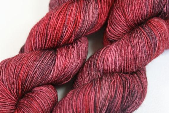 Dark Shadows - Excalibur BFL nylon Sock yarn - 100g
