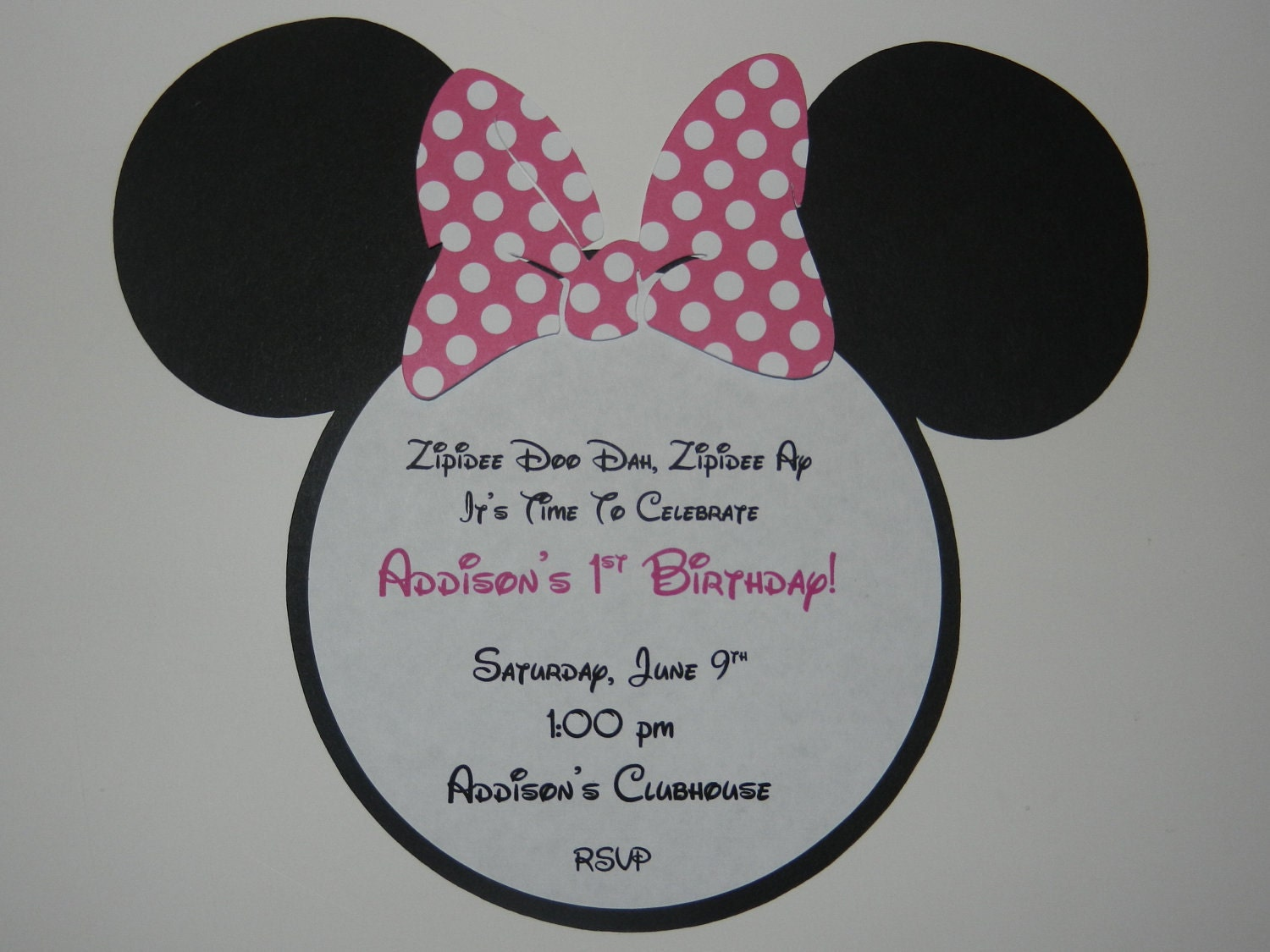 Mickey And Minnie Mouse Invitations For Twins was awesome invitations example