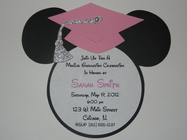 Graduation Cap Invitations for perfect invitation sample