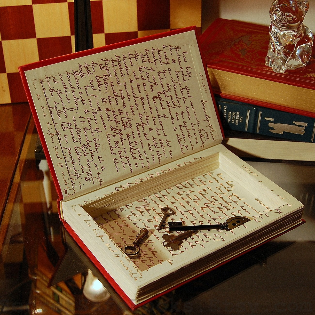Hollow Book Secret Safe Diary Of Anne Frank