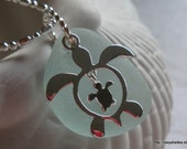 Mommy and Baby Turtle Necklace