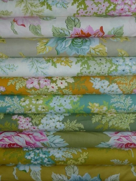 NEW, Heather Bailey, Nicey Jane, 1\/2 yard set
