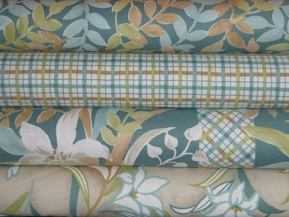 CLEARANCE, Gail Kessler and Ladyfingers Studios, 1\/2 yard set, Lilliana collection