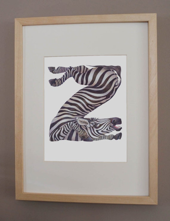 Z is for Zebra - PRINT