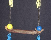 BIRD,TOY,PARROT,TOYS,NEW,WOOD,SWING 469