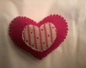 Organic Cotton filled Valentine Pin Cushion