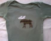 Moose Plaid Creeper