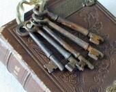 Antique Rustic Skeleton Keys