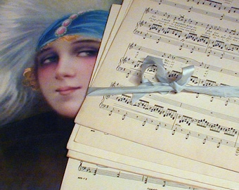 Salvaged Sheet Music Pages