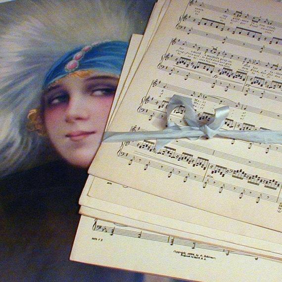 Salvaged Sheet Music
