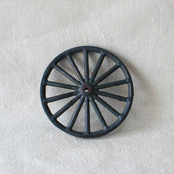 Cast Iron Single Toy Wagon Wheel By Thelostrooms On Etsy