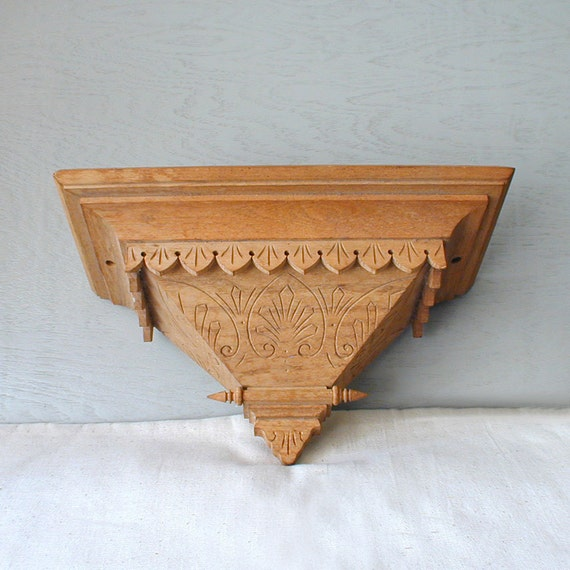 Vintage Architectural Wood Accent Piece
