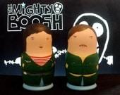 The Mighty Boosh Double Matryoshka Set