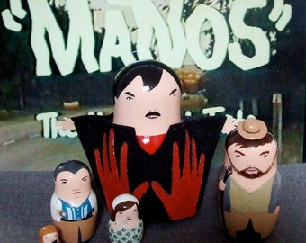 Manos: Hands of Fate Matryoshka Dolls
