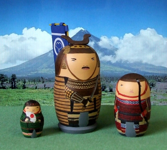 Way of the Samurai Babushka Dolls