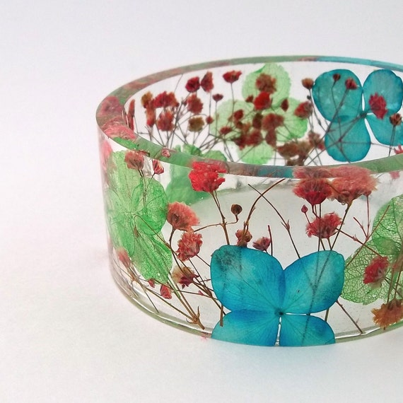 Size XXL  Botanical Resin Bangle. Contemporary Resin Bracelet.   Engraved Bracelet.  Personalized Plus Size Jewelry. Bridesmaids Anniversary