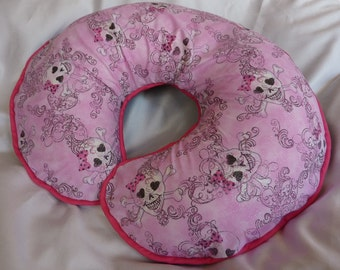Baby Girl Boppy Pink Punk Priness Nursing Pillow Cover fits Boppy Pillows