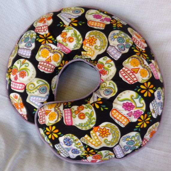 Sugar Skulls Nursing Pillow Cover - fits Boppy pillow