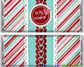 Be My Valentine Candy Bar Wrapper