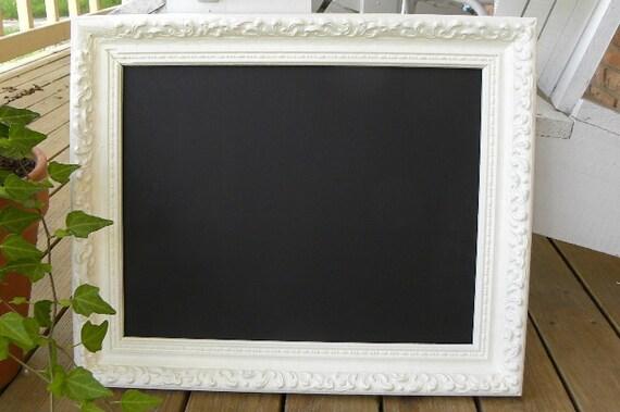 Shabby chic vintage frame chalkboard