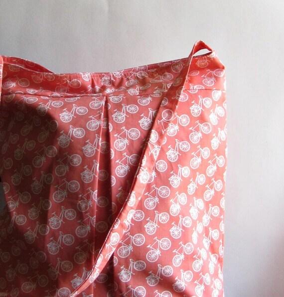 Bicycle Print Crossbody Bag