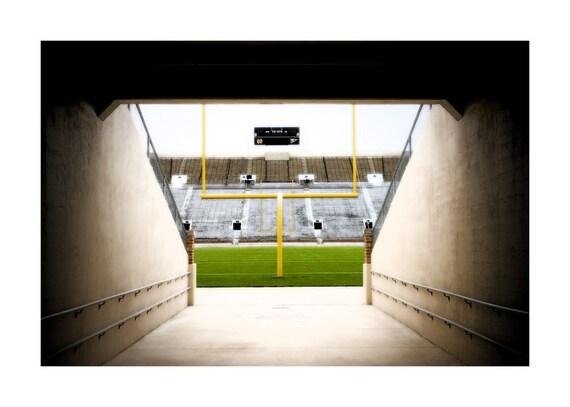 Here Come the Irish (Notre Dame Stadium) - 11x14 Fine Art Print