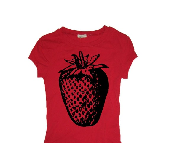 Items similar to strawberry shirts cheap custom t shirt for Customize my own t shirts for cheap