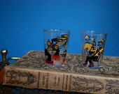 Vintage Pair of Shot Glasses