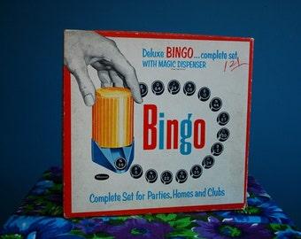 Vintage 1950s Bingo Game