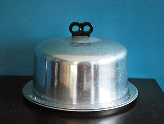Vintage Aluminum Cake Carrier By Sweetshopvintage On Etsy