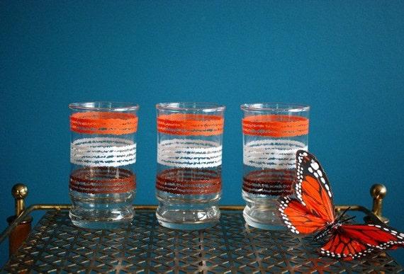 Vintage Juice Glass Set