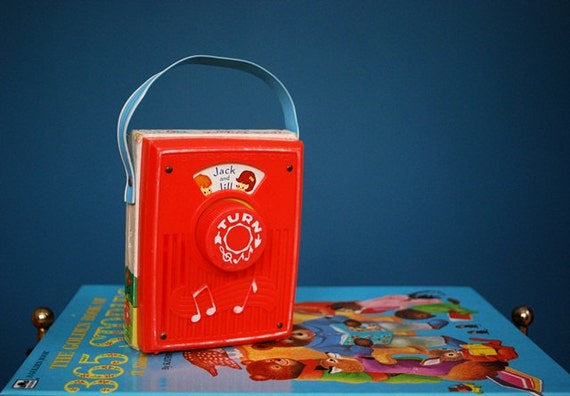 Vintage 1970s Fisher Price Jack and Jill Radio