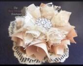 "Fabric Flower Tutorial/ PDF Pattern ""Pouting Princess"" by Fancy Schmancy"