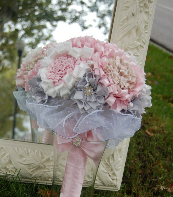 Items Similar To Fabric Flower Bouquet Tutorial Glorious By Fancy Schmancy INSTANT Download On