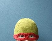 teenage mutant ninja turtle hat - Raphael (ready to ship)