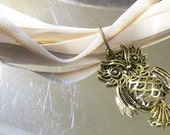 """Who Who's Gonna Take Me Home 18"""" Ribbon Necklace"""